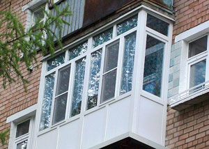 Остекление лоджий и балконов в Казани